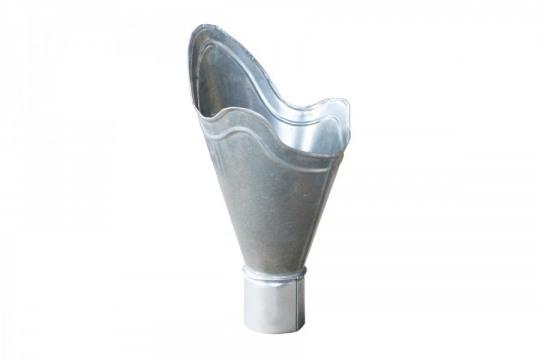Воронка водосточная тюльпан водосточная из оцинкованной стали