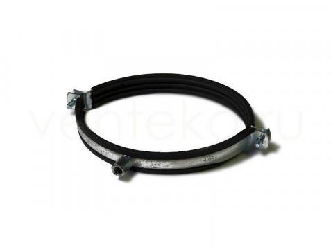 Хомут для воздуховодов D160 мм с уплотнителем (Supler) М8