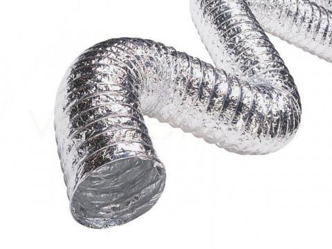 Воздуховод гибкий неизолированный D254