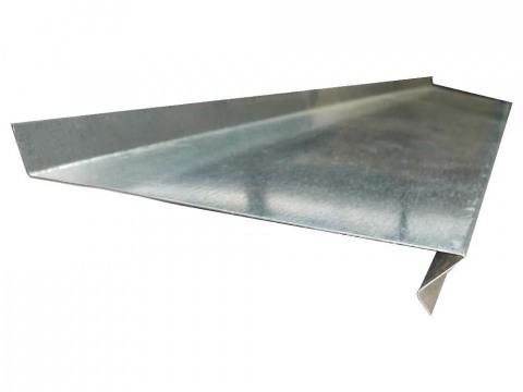 Отлив (подоконник) водосточный из оцинкованной стали