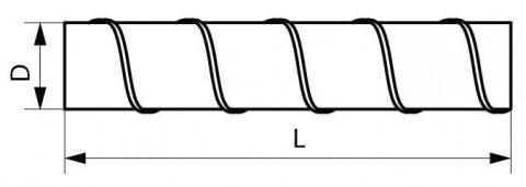 Спирально-навивной воздуховод
